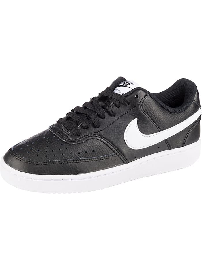 Nike Sportswear Court Vision Low Sneakers Low, schwarz/weiß
