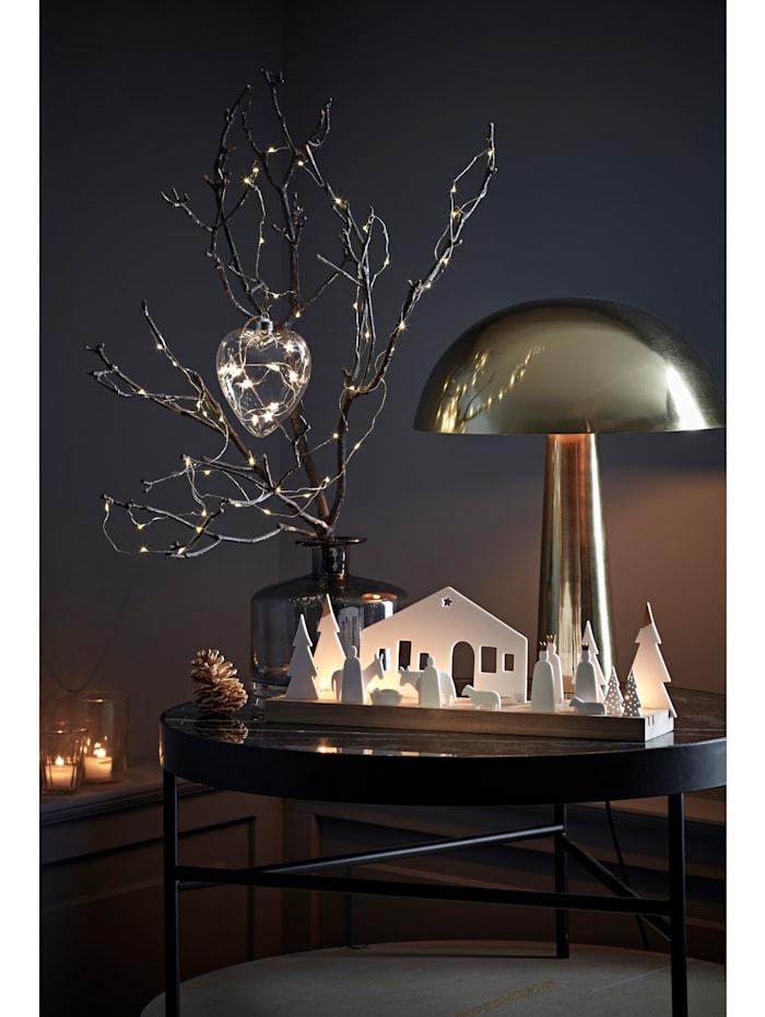 LED Glas-Herz