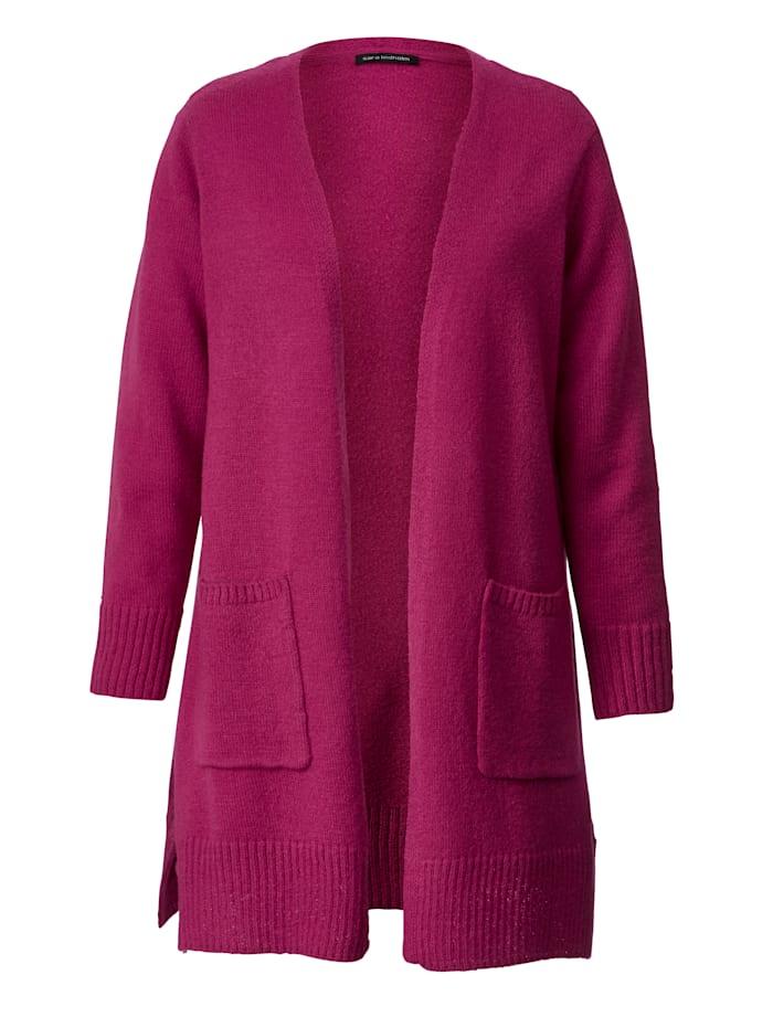 Vest in een opvallende kleur