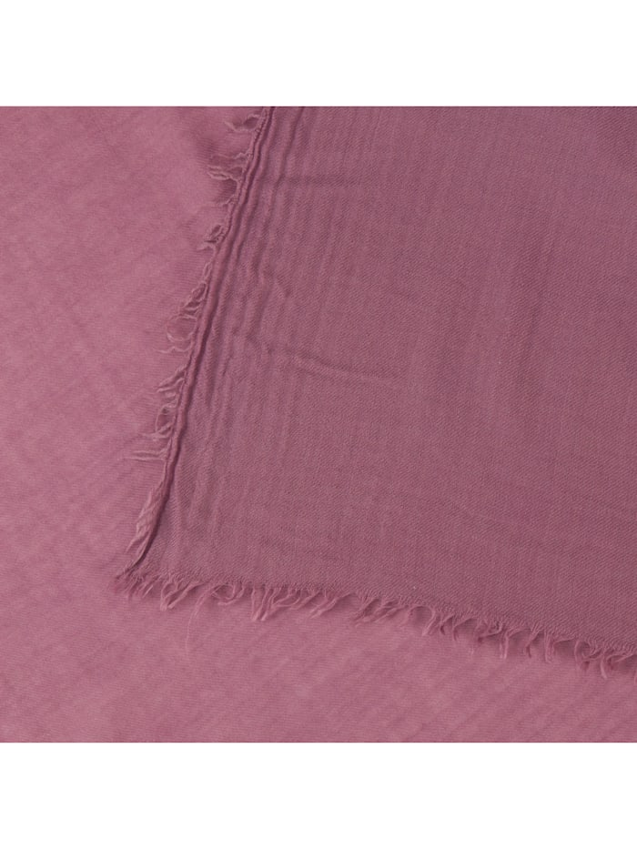 Premium XL-Schal aus Wolle und Seide