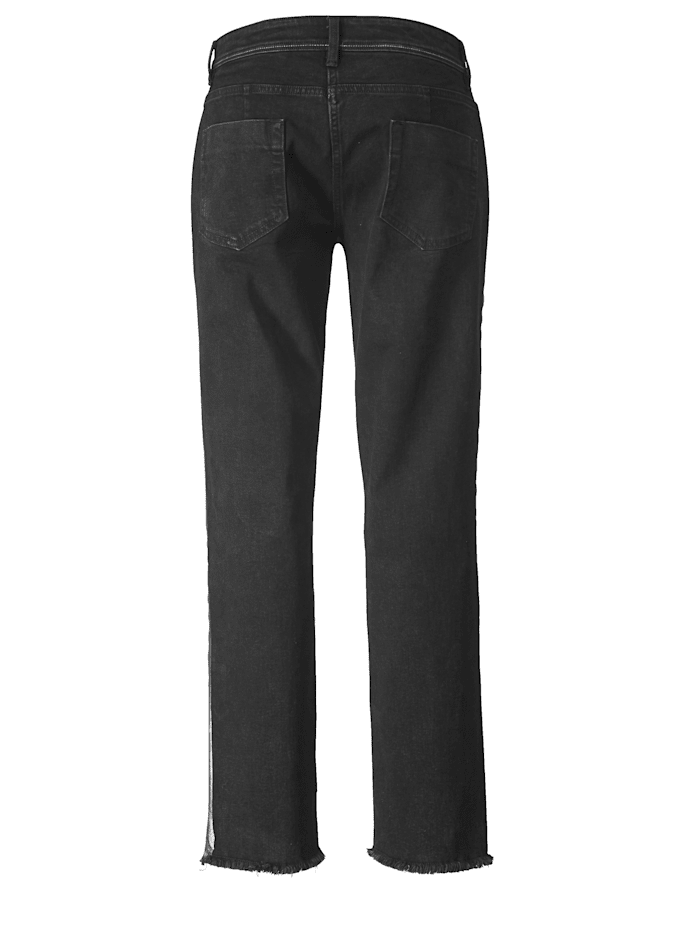 Slim Fit Jeans knöchellang