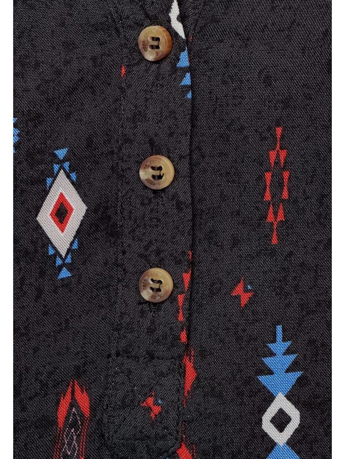 Bluse mit Ethno-Print