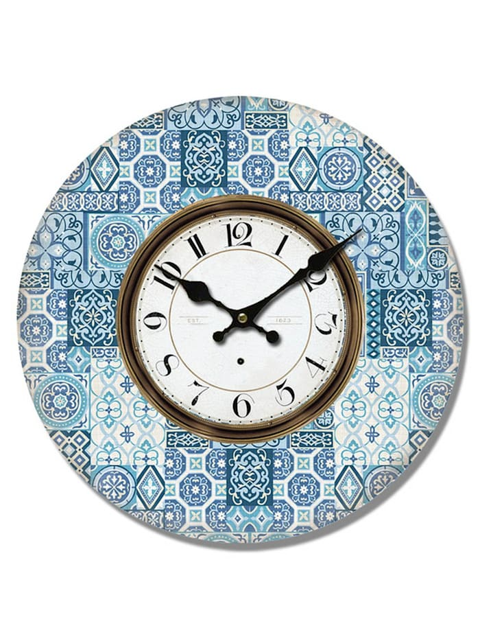 HTI-Line Wanduhr Blue, Blau
