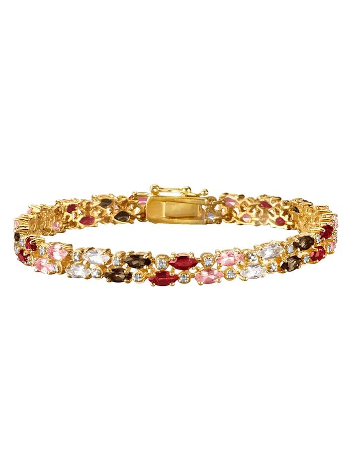 Bracelet avec diamants, Multicolore