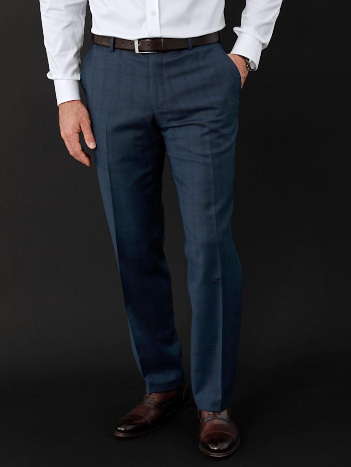 Babista Premium Anzugswollhose mit Schurwolle, Blau
