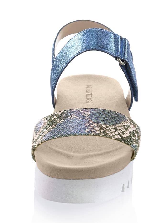 Sandalette in trendaktueller Trekkingform
