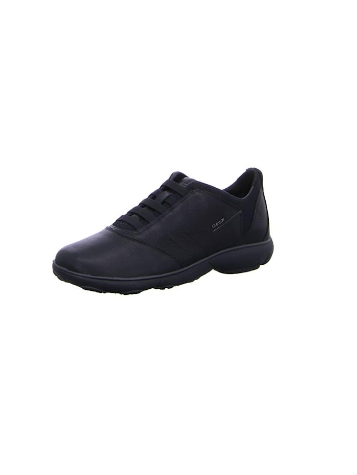 Geox Schnürschuhe, schwarz