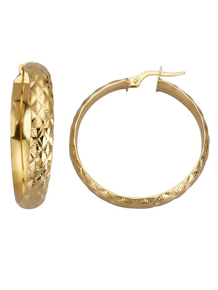 Diemer Gold Creolen, Geelgoudkleur