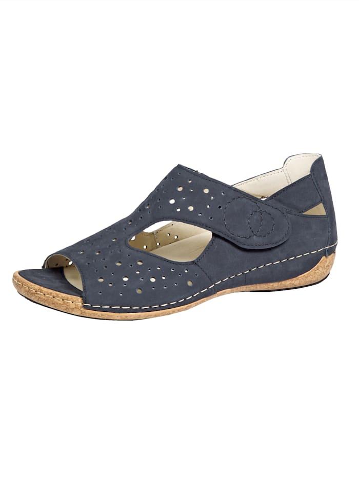Waldläufer Sandals, Dark Blue