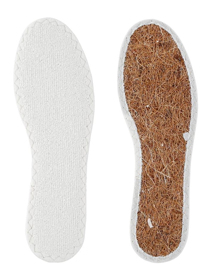 Bambusová vložka do bot