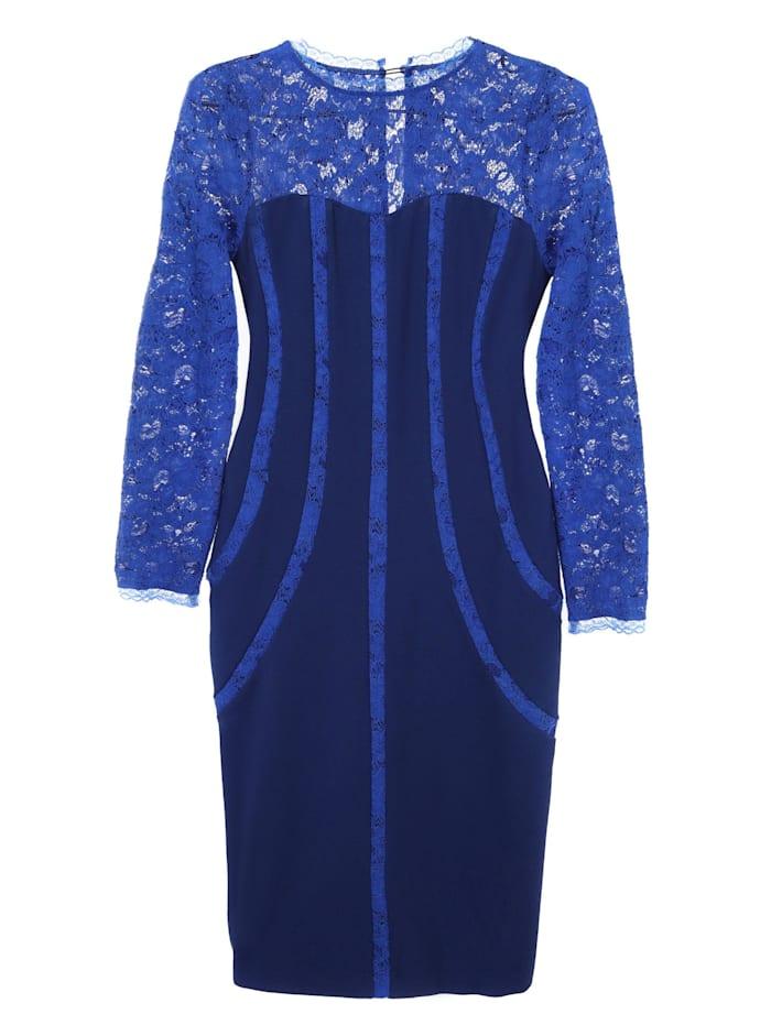 Madam-T Etuikleid Kleid Bakura, indigo