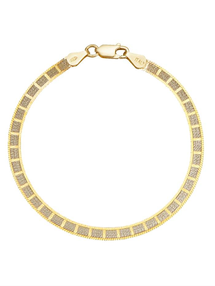 KLiNGEL Armband aus Silber, Gelbgoldfarben