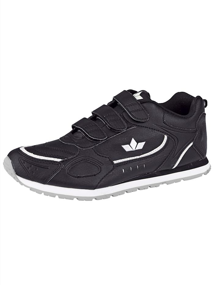 klittenbandschoen met zool geschikt voor binnensport, Zwart