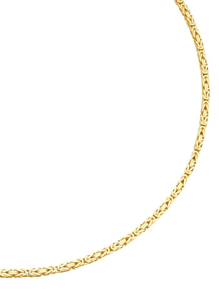 Königskette in Gelbgold
