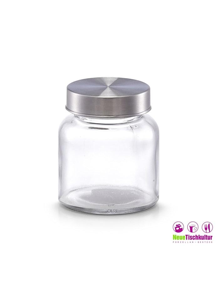 Vorratsglas mit Metalldeckel Mini