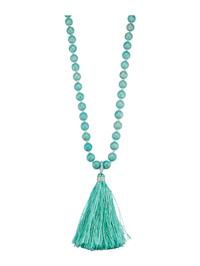 KLiNGEL Halskette mit Achat, Türkis