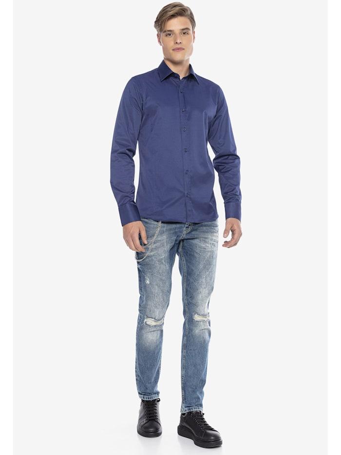 Hemd im trendigen Slim-Fit-Schnitt