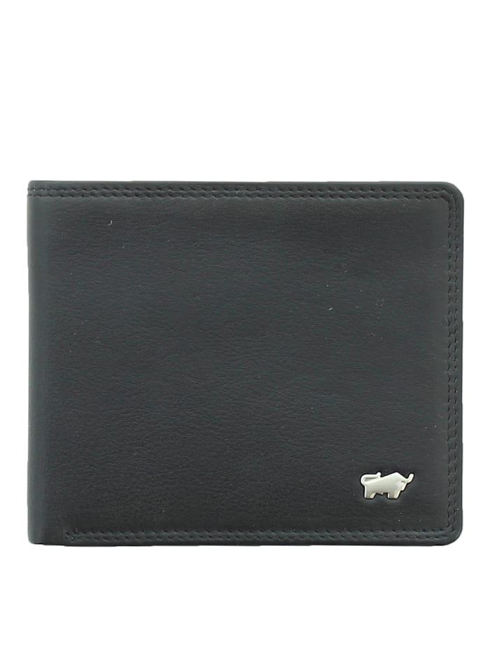 Braun Büffel Kreditkartenetui GOLF 2.0 in elegantem Design, schwarz