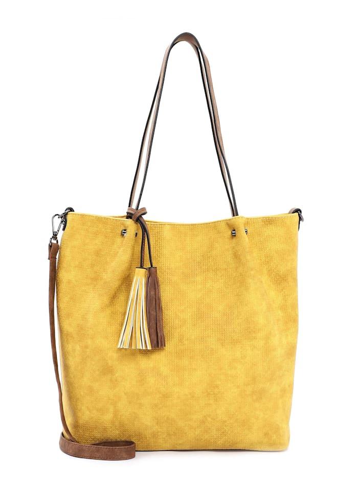 EMILY & NOAH EMILY & NOAH Shopper Bag in Bag Surprise, yellow cognac 482