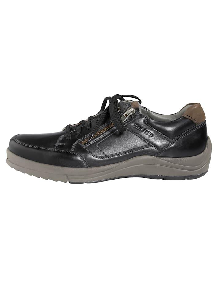 Šněrovací obuv s dodatečným zipem