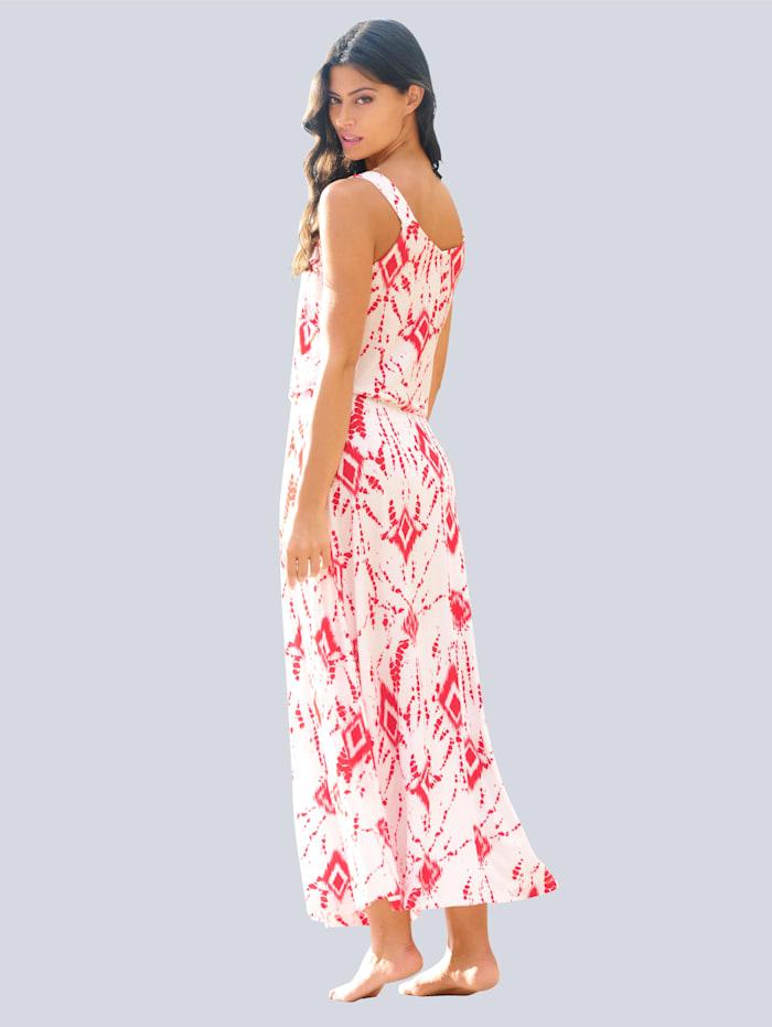 Strandkleid mit Batikdruck