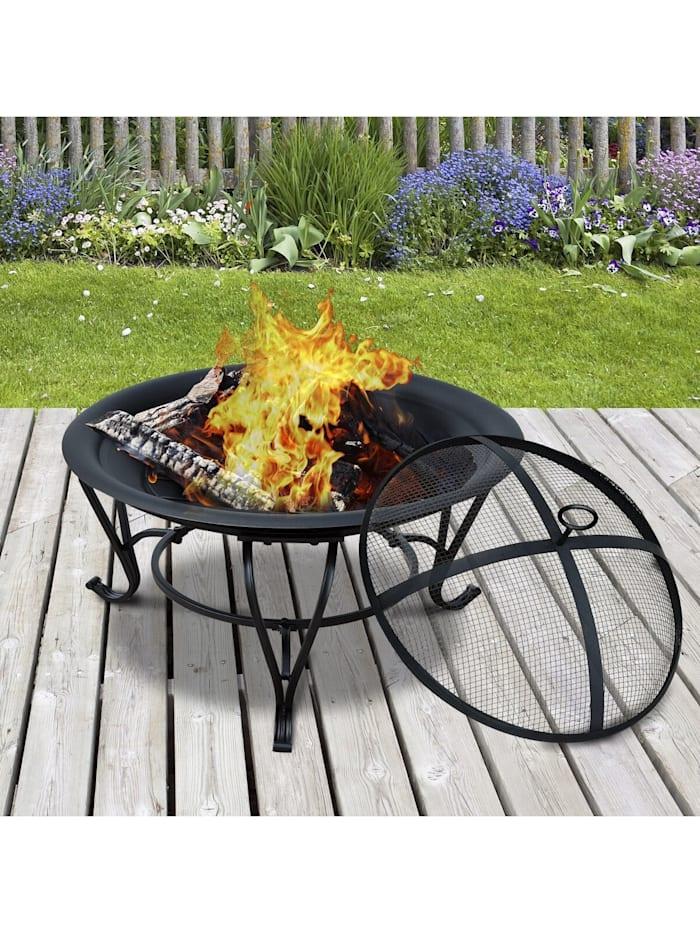 Feuerkorb für Holz und Holzkohle