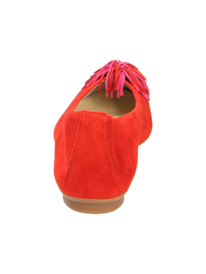 Damen Ballerina in rot
