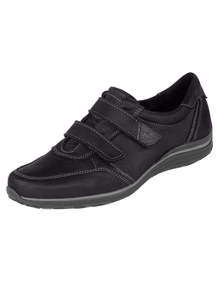 Naturläufer Slip-on shoes In a modern design, Black
