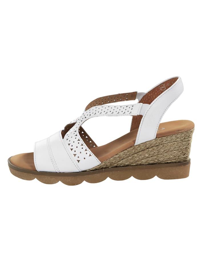 Sandale mit tollem Absatz