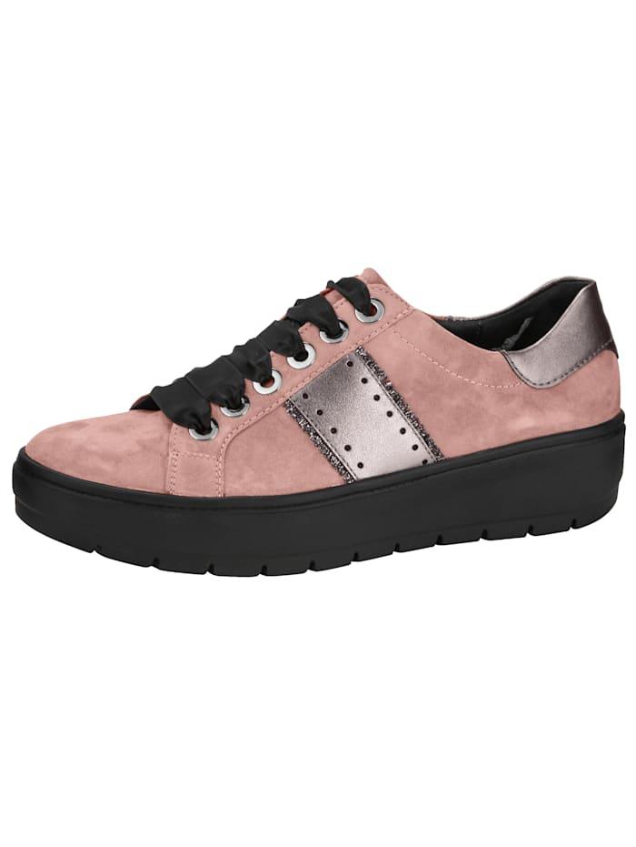 Sneakers à la ligne actuelle