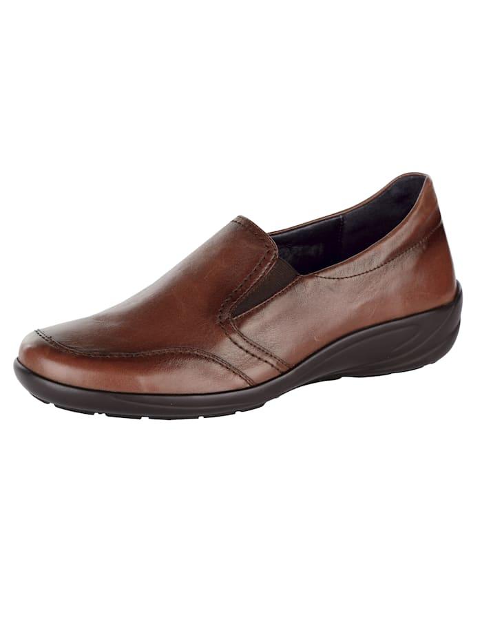 Semler Slip-on shoes, Cognac