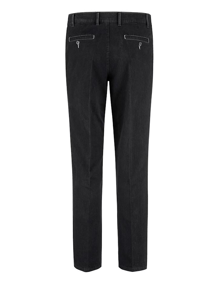 Pantalon d'aspect fil flammé