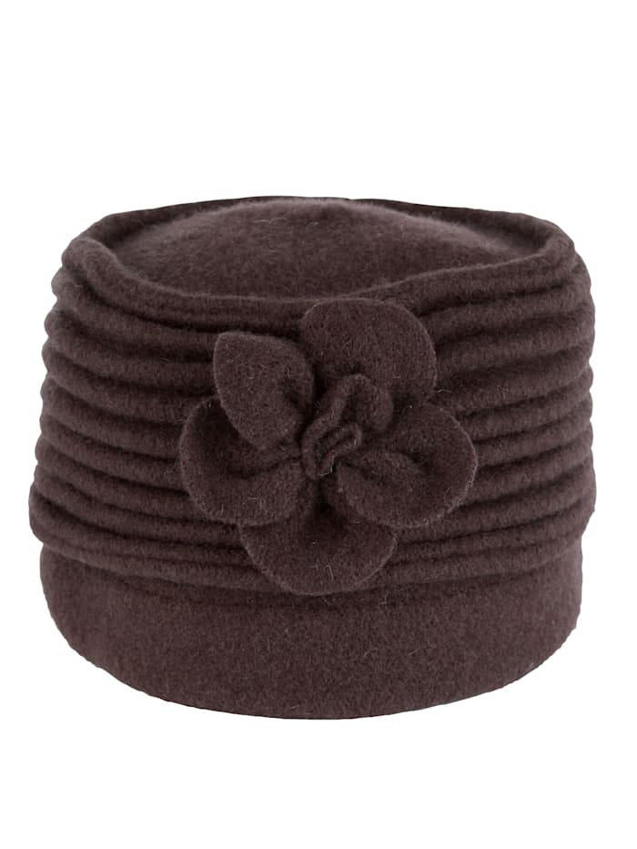 MONA Wool hat, Brown