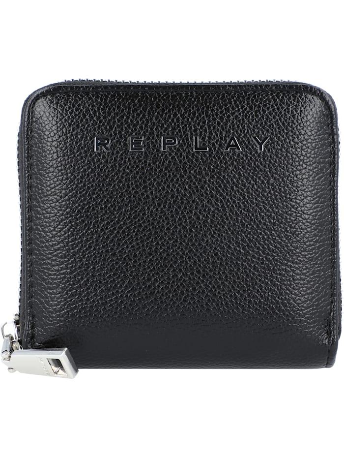 REPLAY Geldbörse 11 cm, black