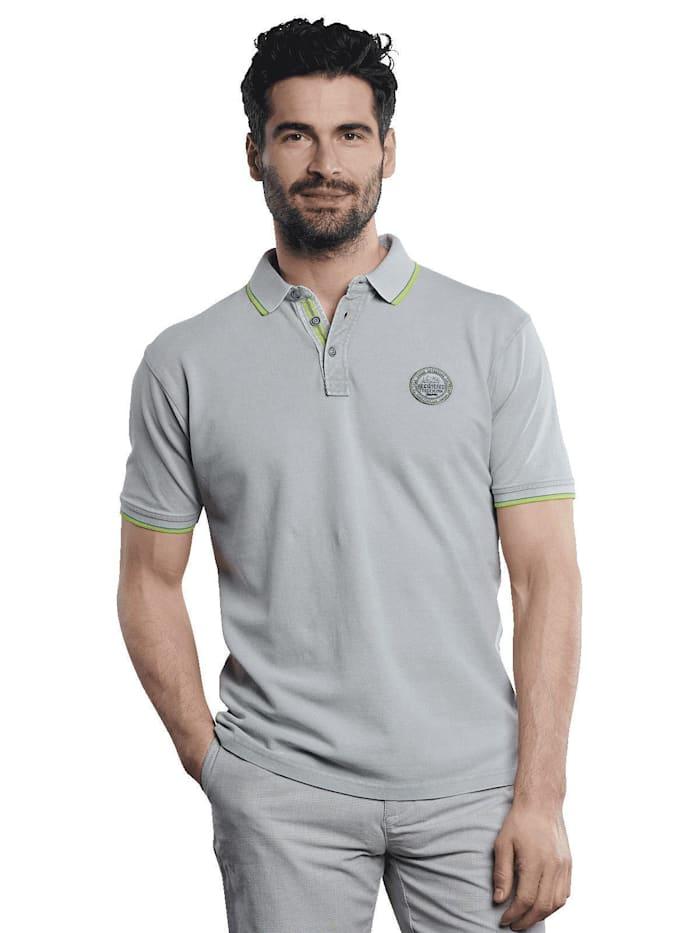 Engbers Poloshirt sportiv, Silbergrau