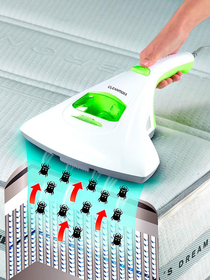 Cleanmaxx Antimilben-Handstaubsauger mit UV-C-Licht, Grün