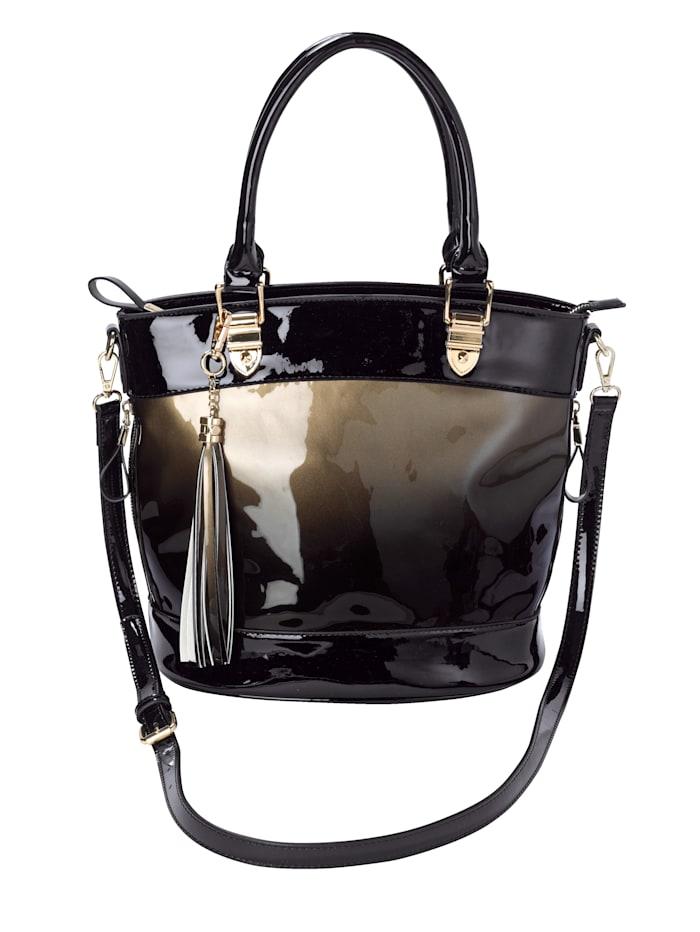 Handtasche in edlem Farbverlauf