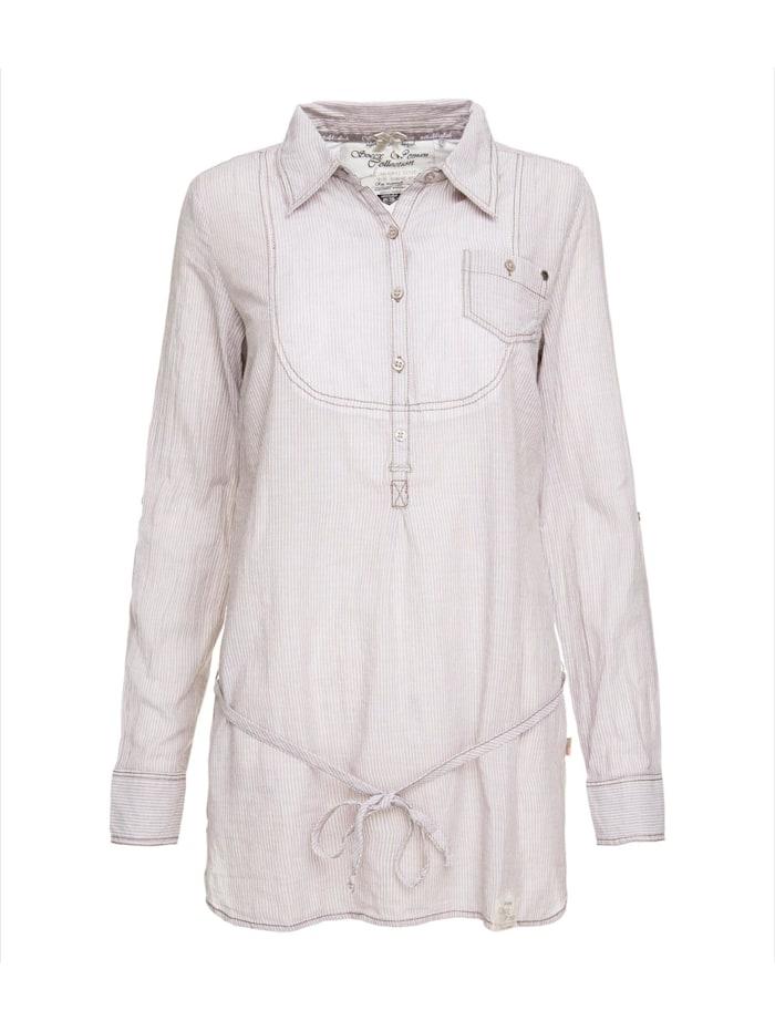 Tunika-Bluse gestreift