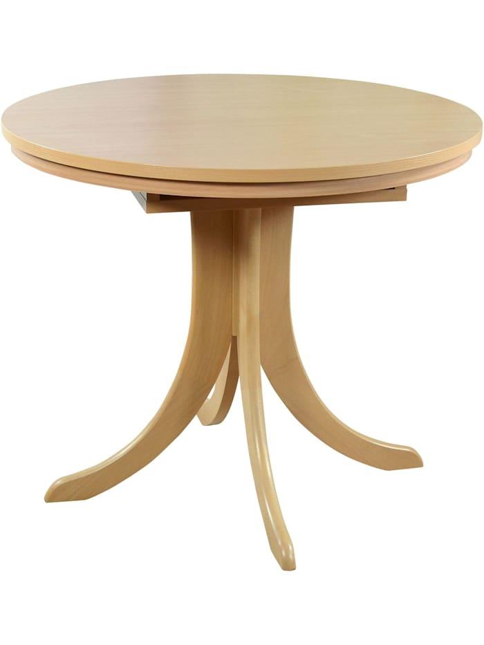 Möbel-Direkt-Online Esstisch 90-125 cm Anita, Buche-Nachbildung