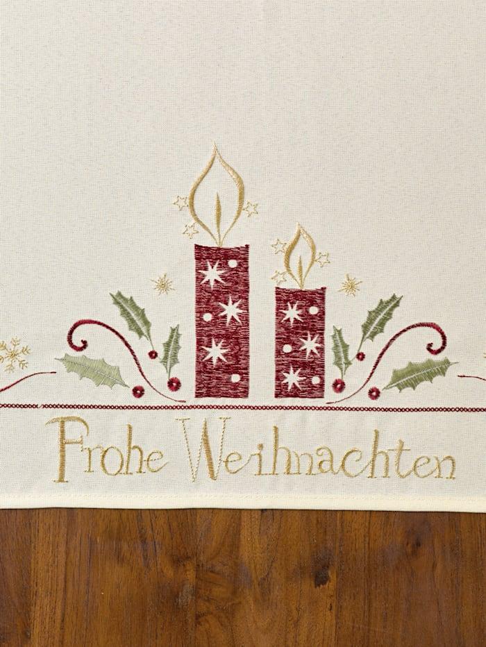 Tischwäsche 'Frohe Weihnachten'