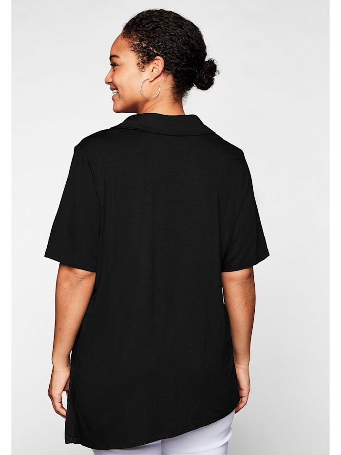 Shirt mit seitlichen Streifen