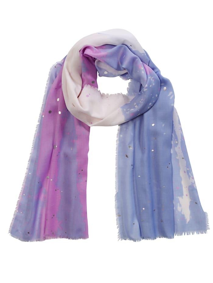 Sjaal met franjes aan de randen