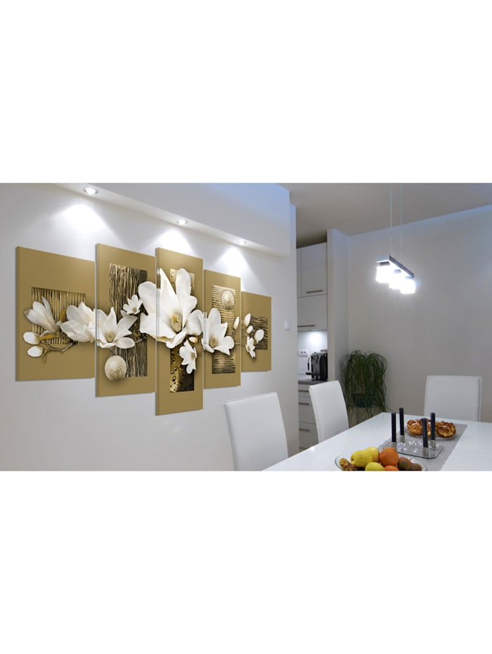 Wandbild Magnolia-Garden