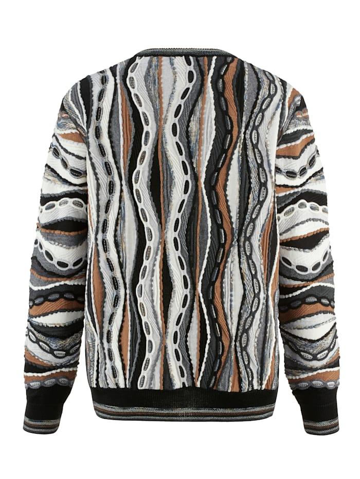 Pullover mit besonderer 3D-Struktur