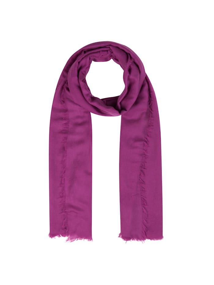 """Codello XL-Schal ,,Basics"""" aus reiner Wolle, purple"""