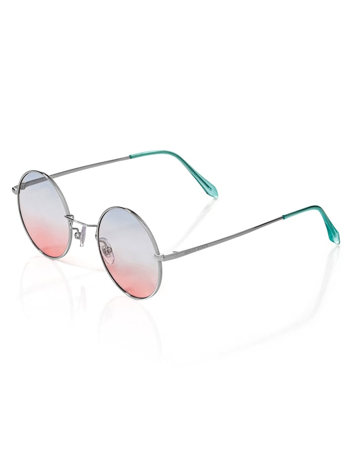 Alba Moda Sonnenbrille mit Vollrandfassung, Transparent