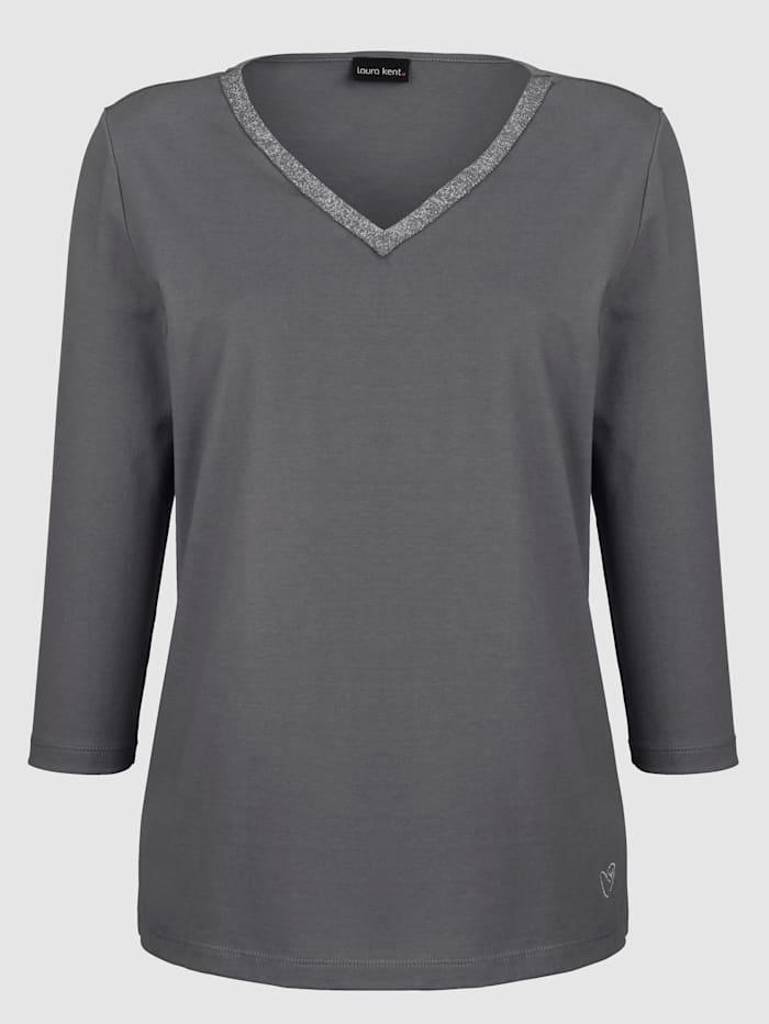 Shirt mit Lurexband