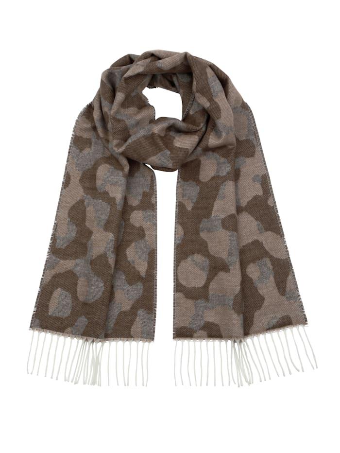 Schal mit angesagtem Camouflage-Muster
