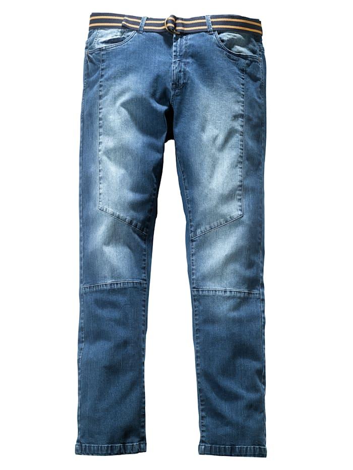 Men Plus Džínsy Slim-Fit, Blue stone
