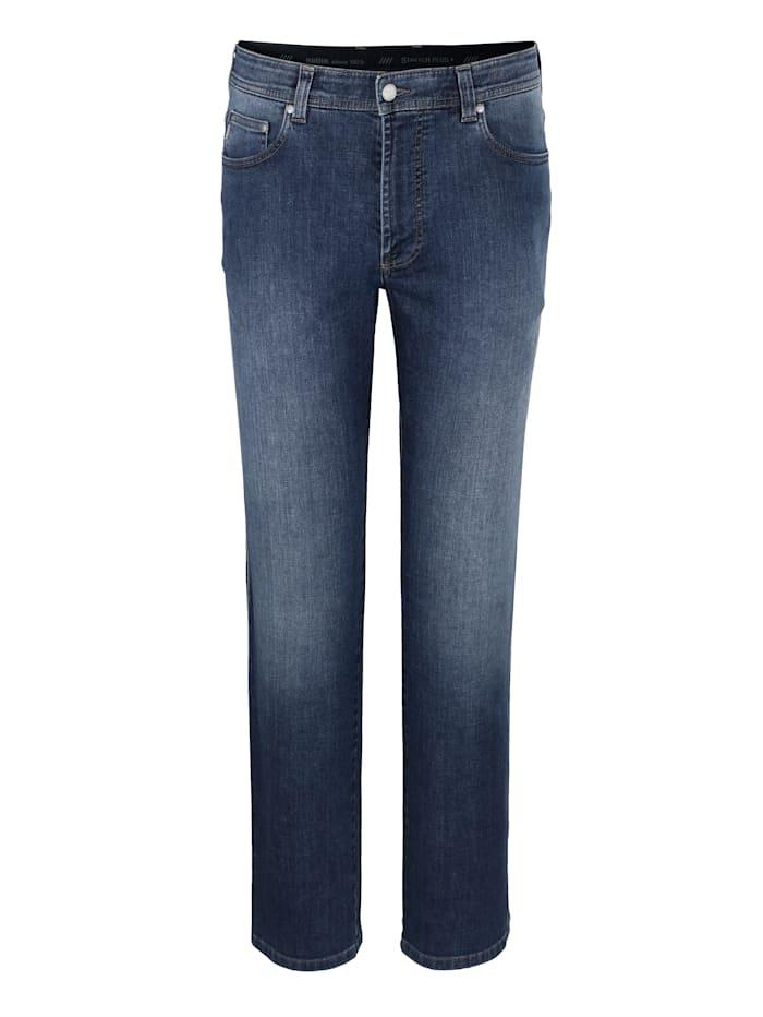Brühl 5-Pocket Jeans in Marken-Qualität, Blue stone